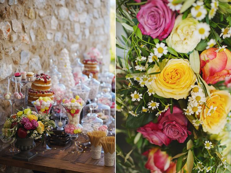 The colourful theme perfectly describes the vibes of this fantastic wedding!