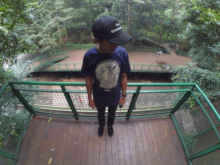 At Taman Kota Babakan Siliwangi, Bandung West Java Indonesia