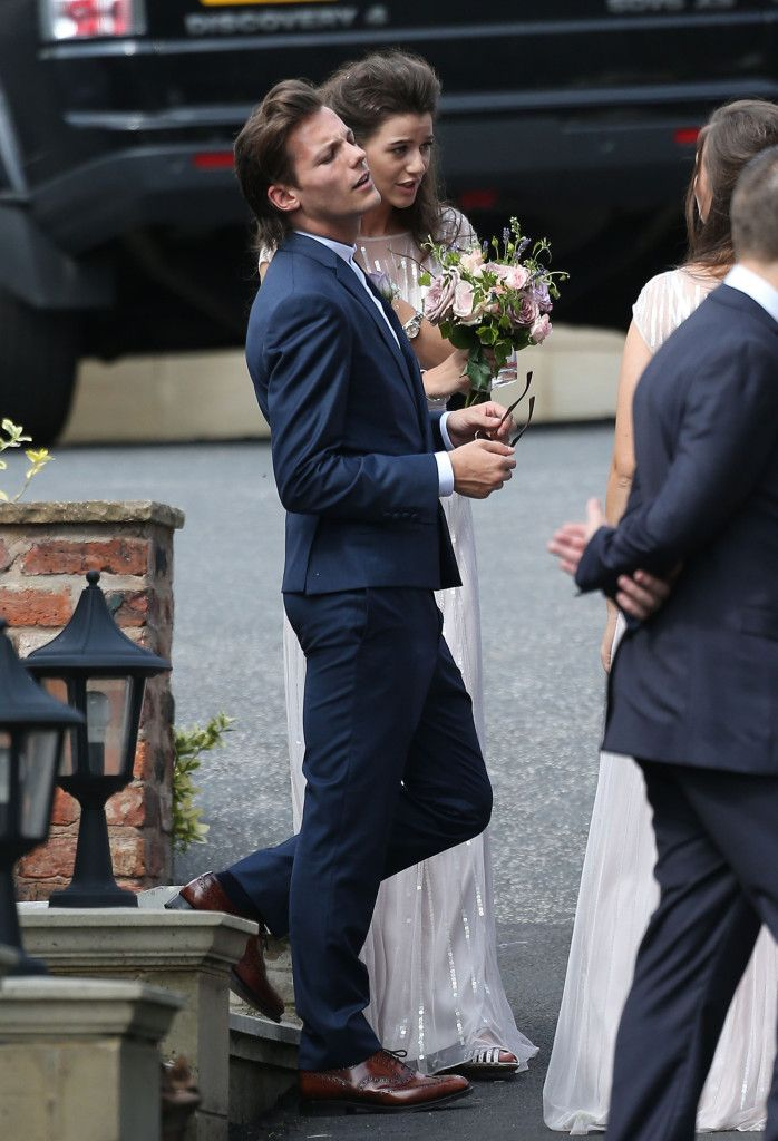 Liam Payne Harry Styles Louis Tomlinson And Eleanor Calder Play Croquet At Johannah Poulston's Wedding In Doncaster - http://oceanup.com/2014/07/20/liam-payne-harry-styles-louis-tomlinson-and-eleanor-calder-play-croquet-at-johannah-poulstons-wedding-in-doncaster/