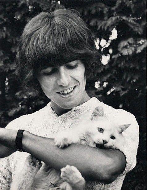 George Harrison..and friend..