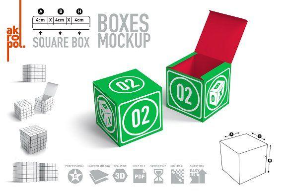 Download Box Mock Ups 02 Box Mockup Mockup Packaging Mockup