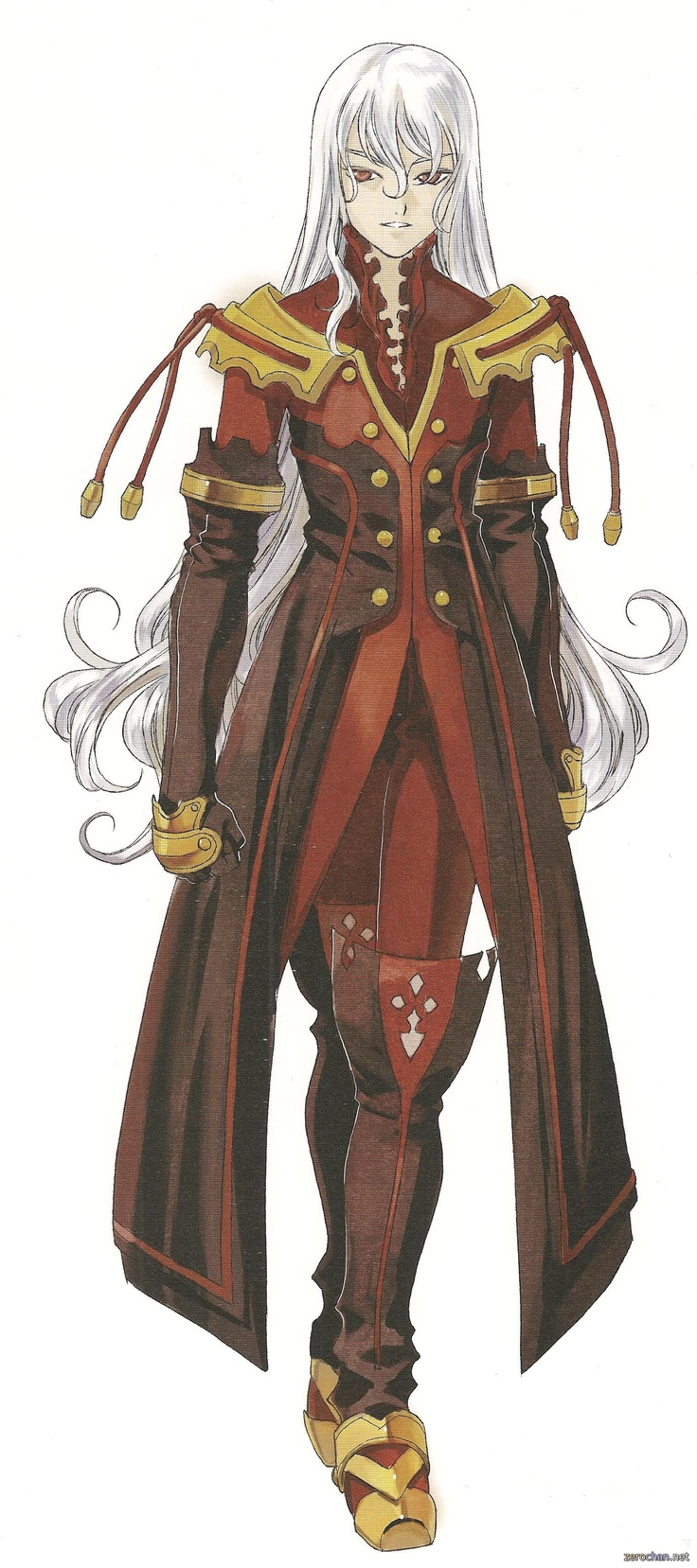 Duke, Tales of Vesperia Not technically an anime but still awesome.