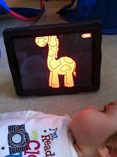 For the birth to three crowd!  http://babieswithipads.blogspot.com/search?q=cvi