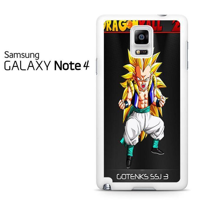 Dragon Ball Z Gotenks Ssj-3 Samsung Galaxy Note 4 Case