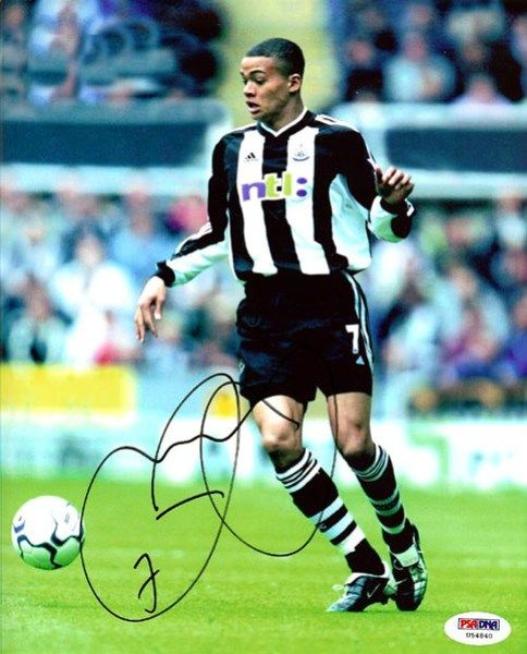 Jermaine Jenas Autographed 8x10 Photo PSA/DNA