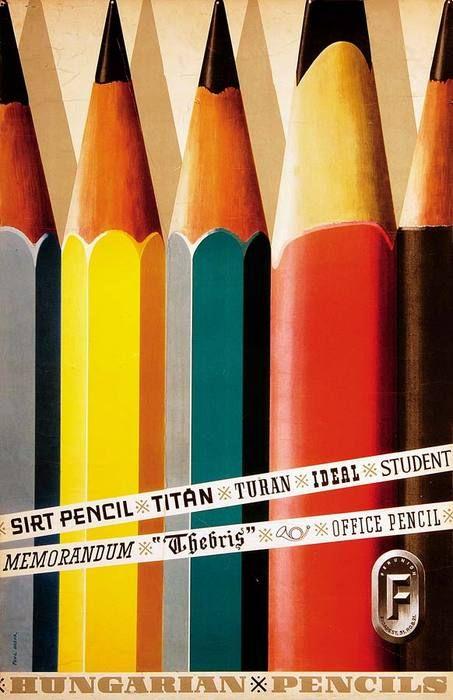 •Hungarian Pencils by Paul Gabor