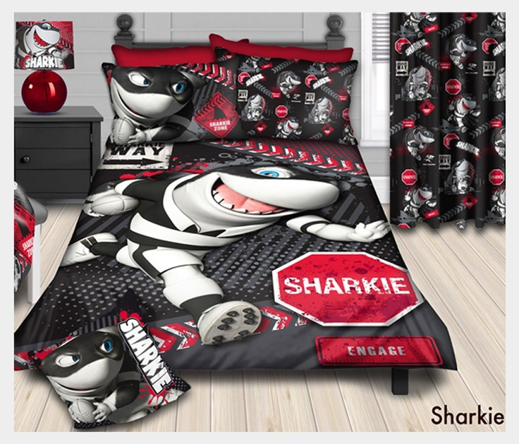 Rugby fans will love this #Sharks Duvet Cover Set