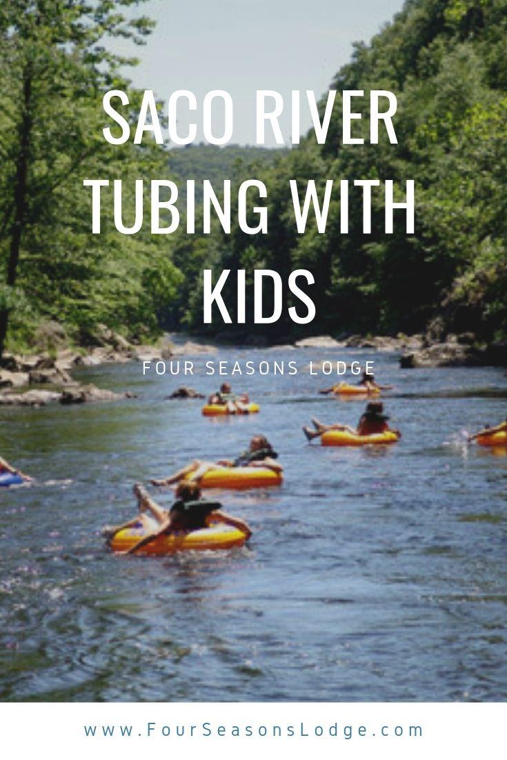 Pin on Saco River Tubing with Kids