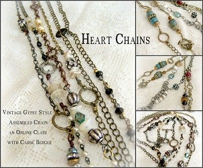 Heart Chains - Carol Berger Online video workshop