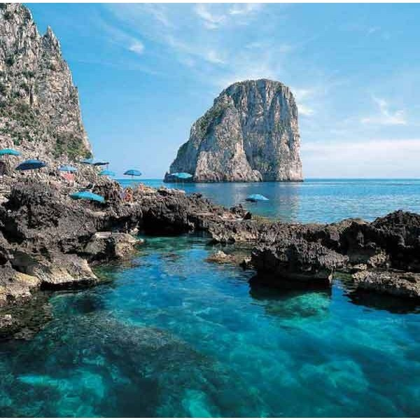 Isle of Capri, Italy ❤ liked on Polyvore