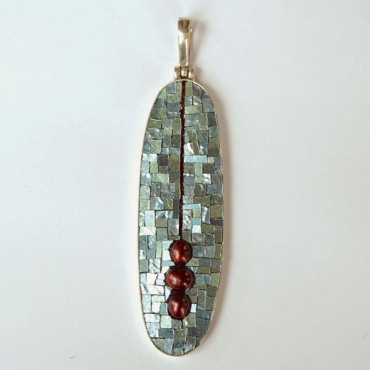 Margo Anton's Mosaic a Day: Pendulum