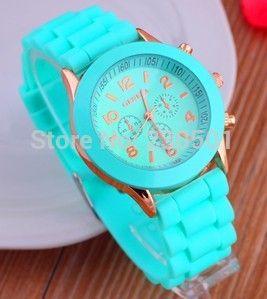 Relojes хомбре 2015 часы женщины многоцветный студня молодая школьница наручные часы мода кварцевые часы цвет платья женщин часы купить на AliExpress