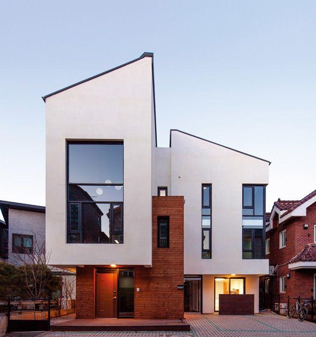 복층구조의 세 가구 주택, CoCo House (Conversation+Collaborative Housing)| Daum라이프