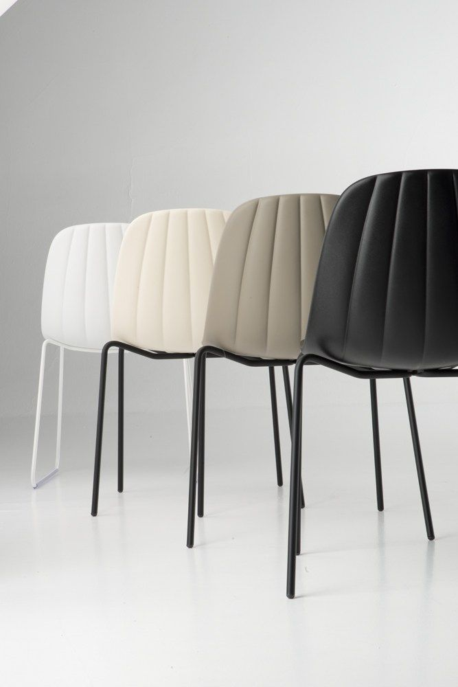 BABAH S Stackable chair by CHAIRS & MORE design Roberto Paoli