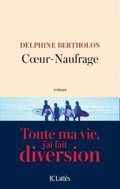 Critiques, citations, extraits de Coeur-naufrage de Delphine Bertholon. ***** Lyla et Joris...  Deux jeunes adultes cassés, perdus, fragiles...
