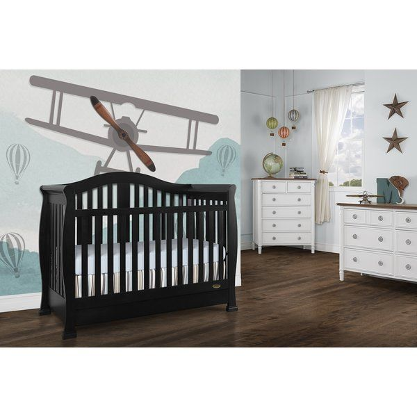 Addison 5 In 1 Convertible Crib And Storage Convertible Crib Cribs Crib Storage