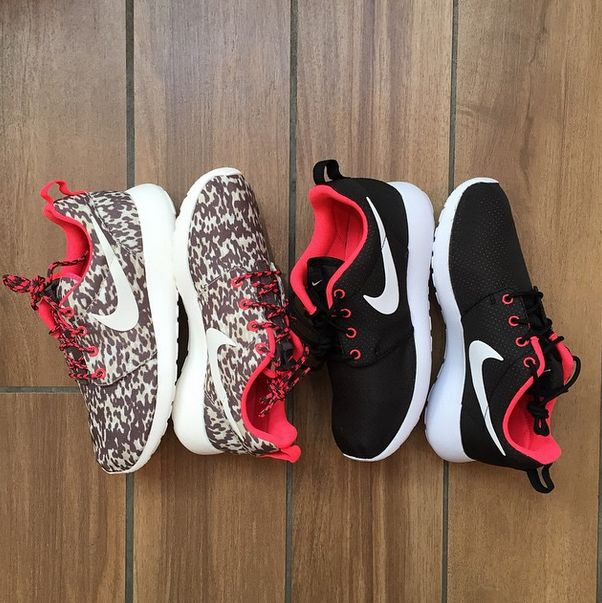 SKU 511881 Nike Embroidery Series Nike Roshe Run Couple Sport Casual Light Embroidery Mesh Breathable Olympic Running Shoes 40 44 None Cheap To Buy