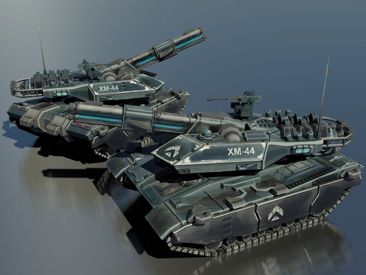 The XM44 is the new Main Battle Tank of the Glizean Union, and the first tank to be built with a pure railgun. Earlier tanks either used hybrids or chemical cannons, never has a railgun-only tank b...