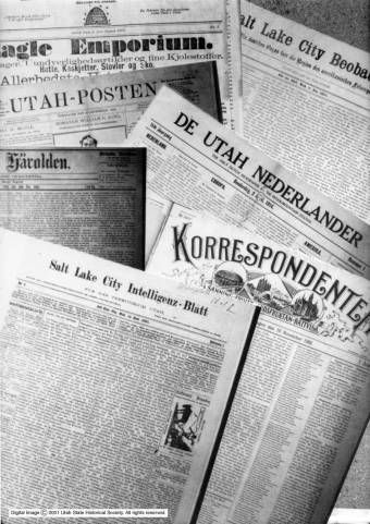 Newspapers p.1 :: Utah State Historical Society - Classified Photographs