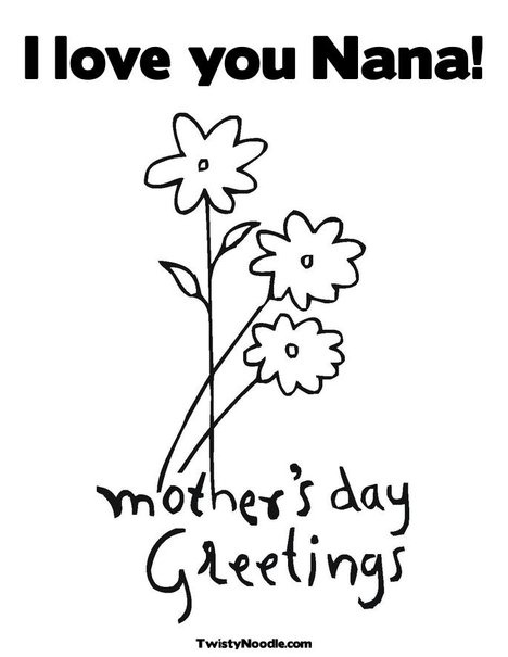 The 25+ best Mothers day coloring pages ideas on Pinterest - mothers day card template