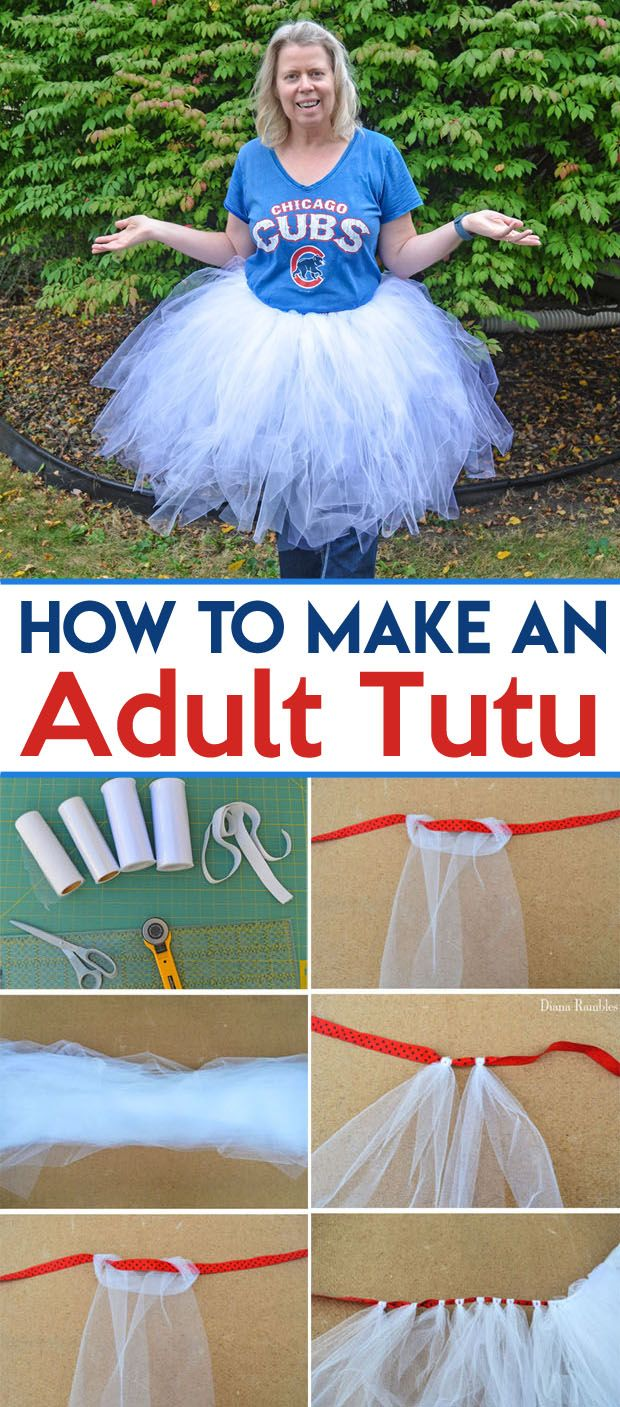 Create a Pokémon Ball Adult Tutu Costume to wear for Halloween or when you play Pokémon GO. This teaches you how to make a tutu for an adult.