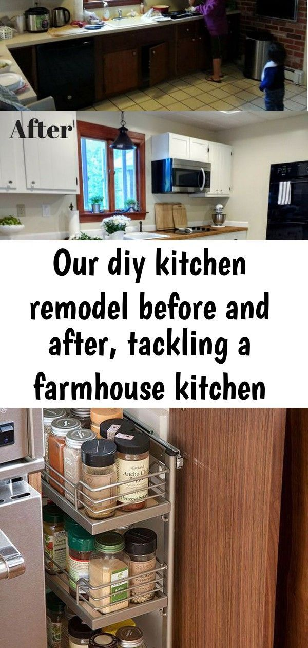 Makeup And Age Farmhouse Kitchen Remodel Kitchen Remodel Diy Kitchen Remodel