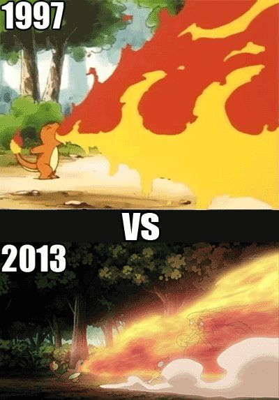 Pokemon: Evolution of Flamethrower
