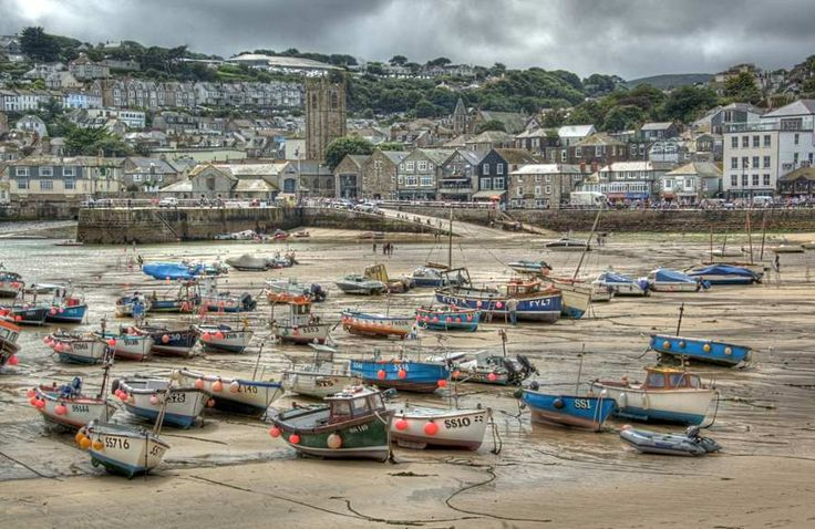 Harbour Beach in St Ives, Cornwall