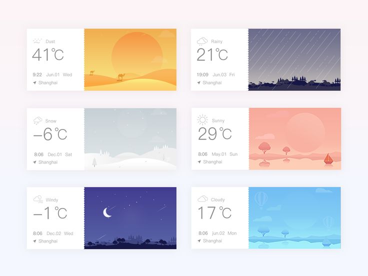 Weather interface 02 by luking