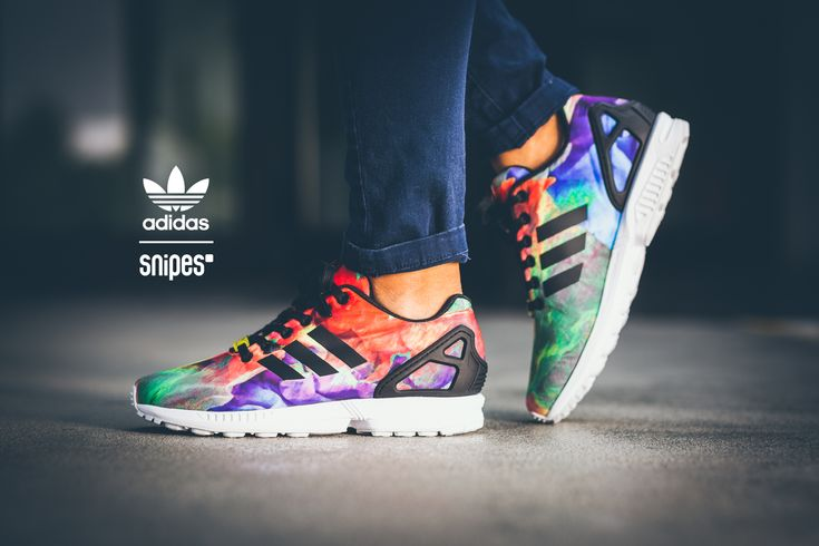 adidas flux multicolor for sale