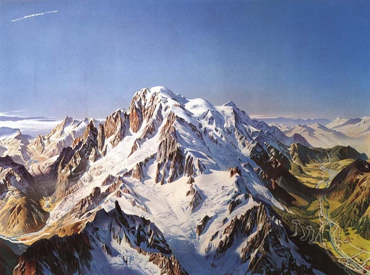 The painter behind piste maps