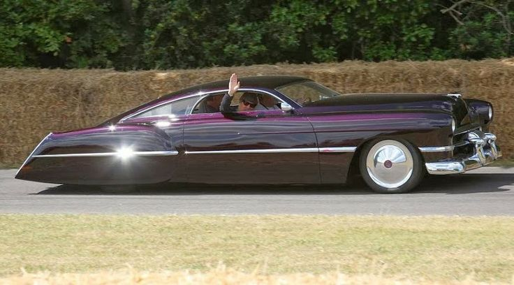 Cadillac Sedanette Cadzilla 1948 Owned By Billy Gibbons