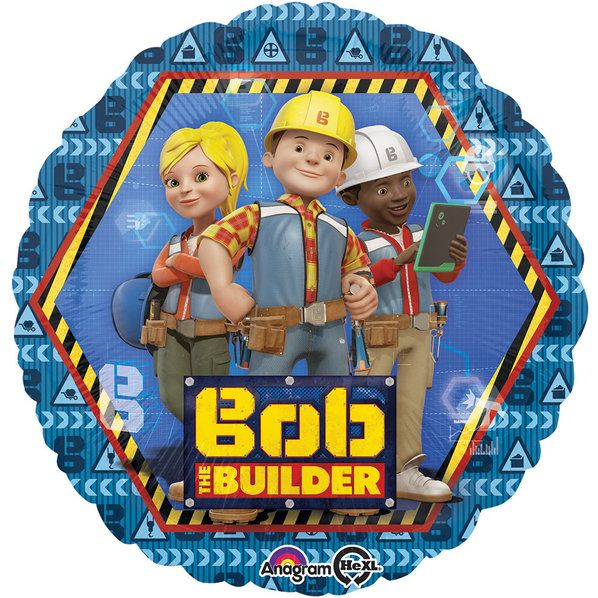 """Check out Bob the Builder 17"""" Balloon 