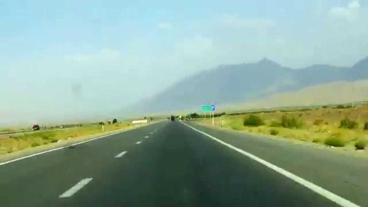 On the road, a timelapse