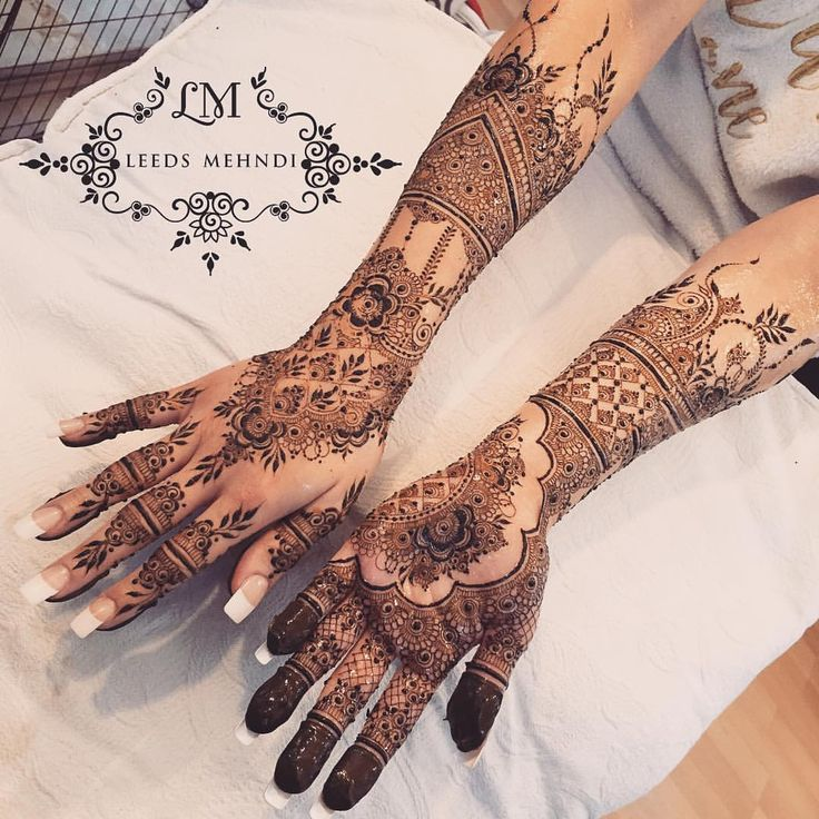 "2,010 Likes, 38 Comments - Henna Tattoo & Mandala Art (@leedsmehndi) on Instagram: ""Eid henna #eid2017 #eidhenna #acrylicnails #diamond #brideandgroom #indianhenna…"""
