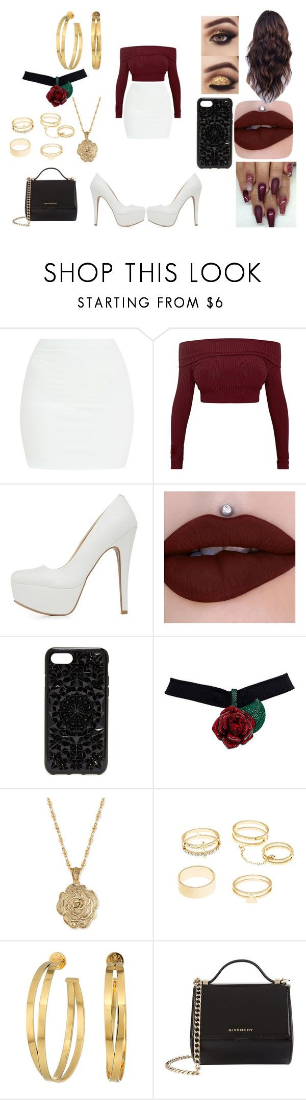 """""""First Date: Fall Date"""" by roxy-crushlings on Polyvore featuring Qupid, Felony Case, 2028, Charlotte Russe, Tory Burch and Givenchy"""