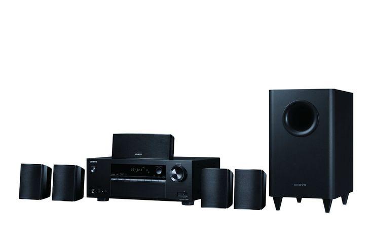 Onkyo HT-S3800 Immersive 5.1-Channel Surround Sound Speaker System, Black