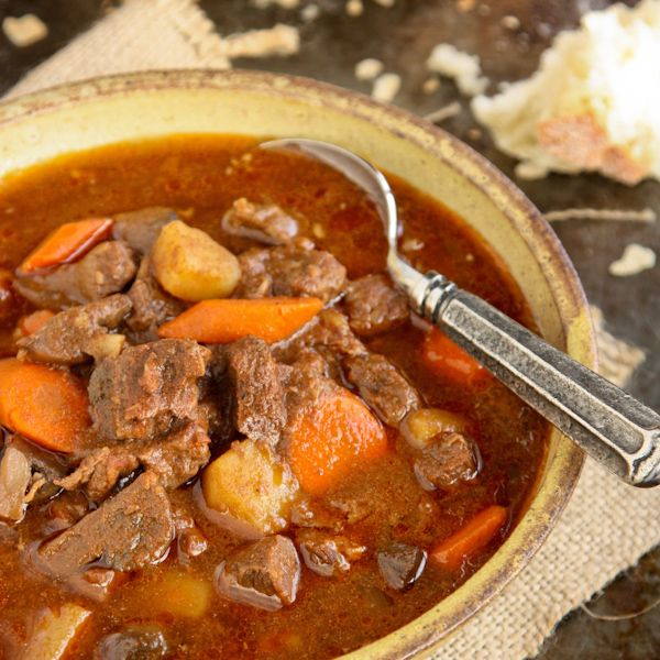 Quite simply, this Slow Cooker Hungarian Goulash is a humble stew of beef, potatoes, and vegetables. And yet, it's so much more.