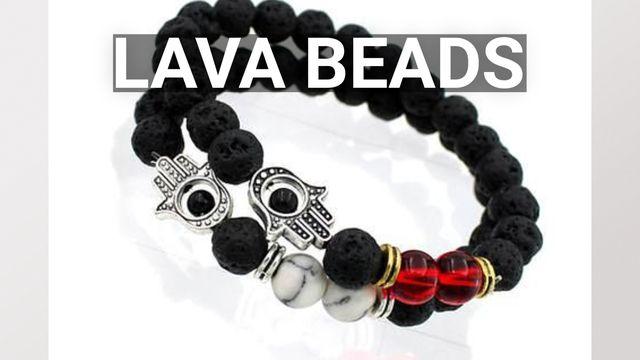Lava Stone Bead Bracelets