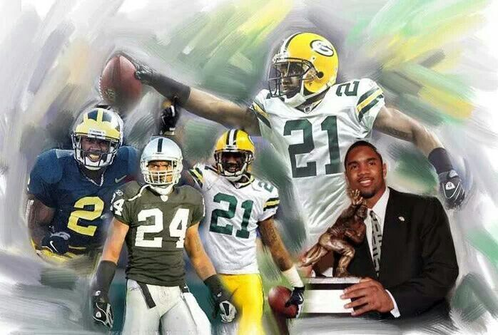 32 best nfl team logos images on pinterest sports logos american football and sports - Charles woodson packers wallpaper ...