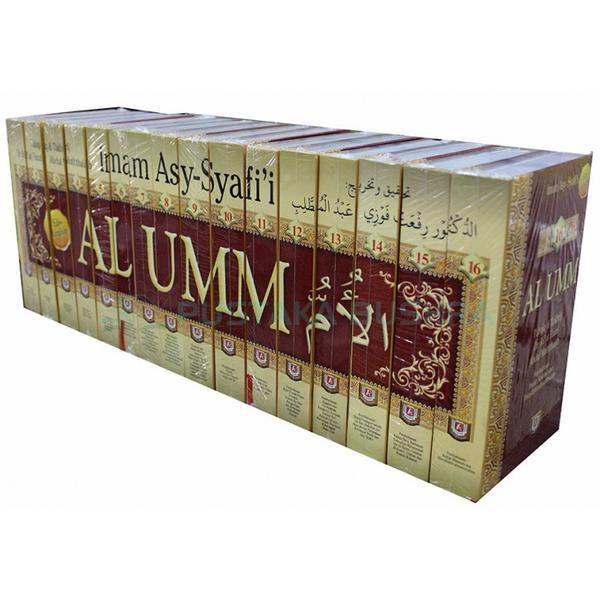 Al Umm, Buku (Fiqh) Imam Syafi'i, 16 jilid Buku LENGKAP Penerbit Pustaka Azzam, Free Ongkos Kirim Area Jakarta Bogor Depok Tangerang Bekasi (Jabodetabek)