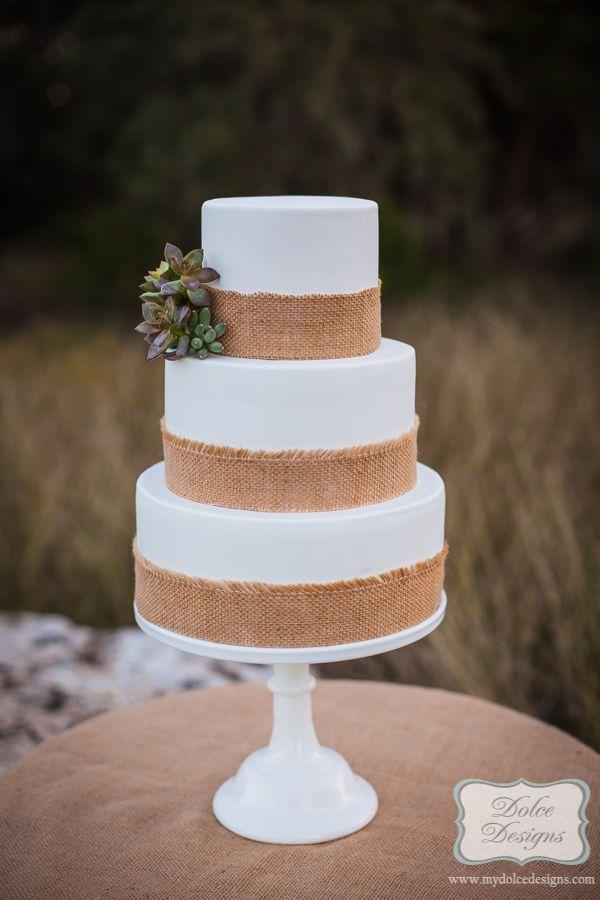 Rustic wedding cake by Dolce Designs | Gâteaux de mariage ...