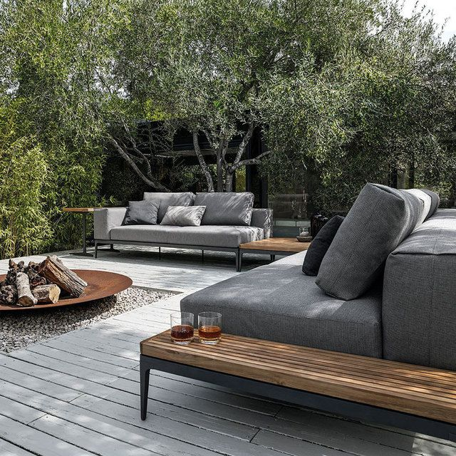 Tuin loungeset hout