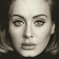 The album cover for Adele's 25... my fangirl game is too strong on this one!