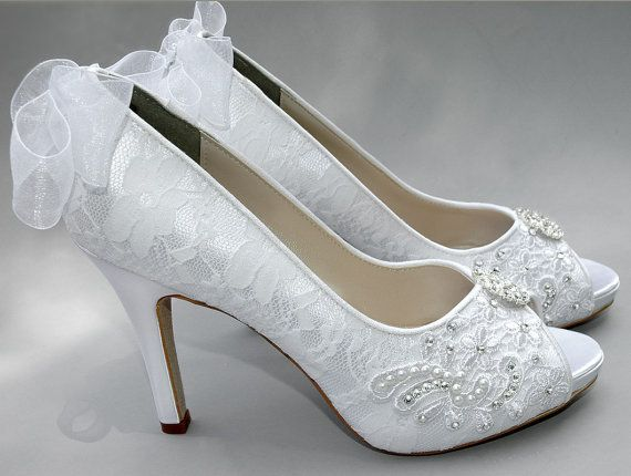 a womens wedding shoes lace wedding shoes womens lace peep toe heels womens wedding shoes womens bridal shoes wedding shoes lace pbt 0384b