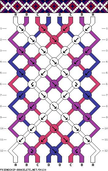 1000 Images About Friendship Bracelet Patterns Amp Color