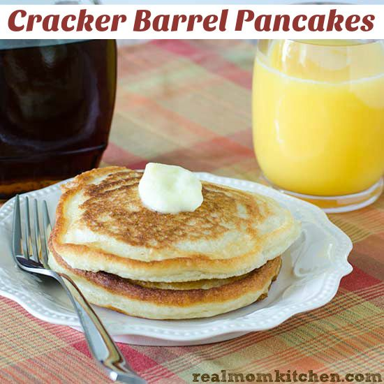 Cracker Barrel Pancakes | Recipe | Mom, Crackers and Real moms