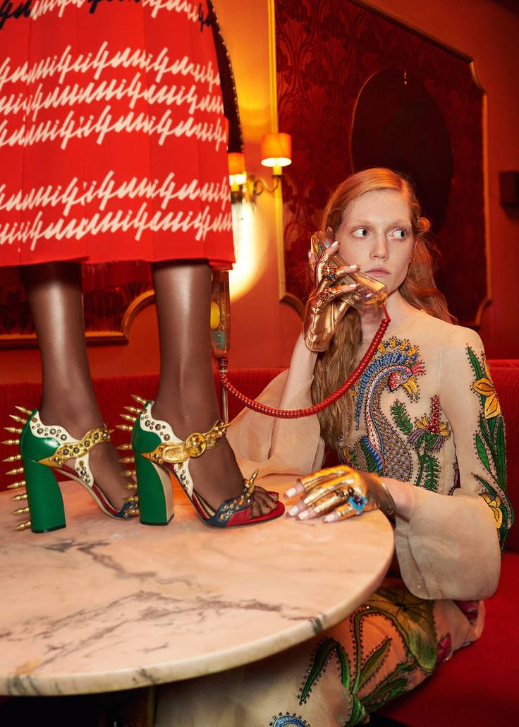 The Spring Summer 2016 Campaign - Gucci Stories