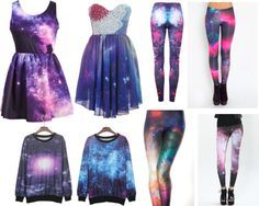 """Galaxy Clothing"" by julia-misenhimer ❤ liked on Polyvore"