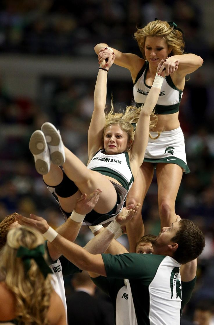 Final, sorry, Michigan state spartans cheerleaders that interrupt